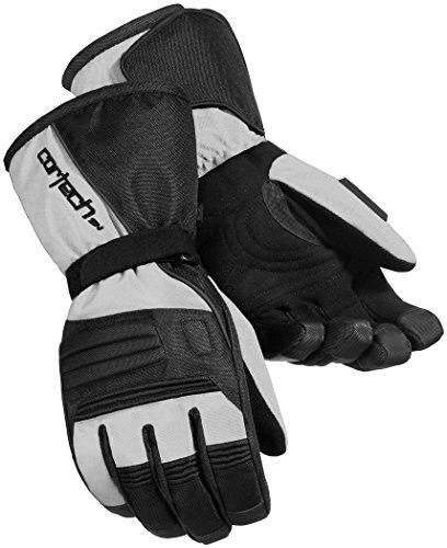 Cortech Journey 2.1 Men's Snowmobile Gloves - Silver/Black / 3X-Large