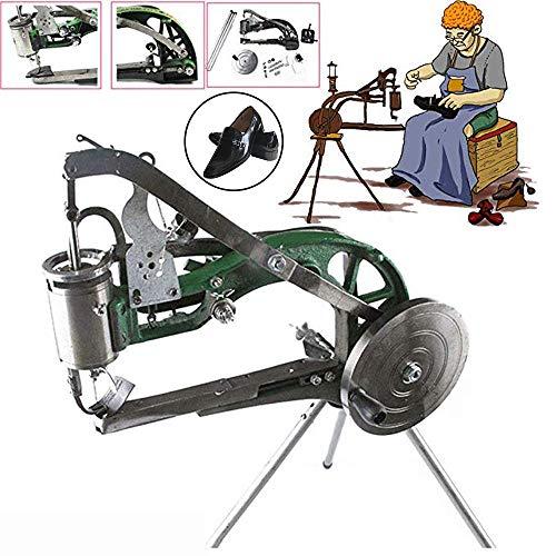 YUEWO DIY Cobbler Shoe Repair Machine Manual Shoe Mending Machine Shoe Sewing Machine Cotton Nylon Line Shoe Repair Machine
