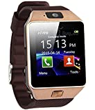 ROBOSTER T30 Bluetooth Smart Watch with Sim Card Slot and Camera (Gold)