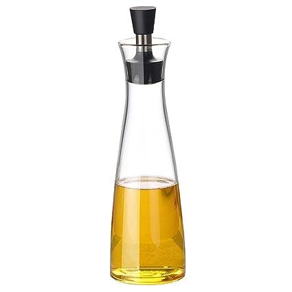 Pawaca Dispensador de Aceite de Oliva controlar el Aceite Vegetal y vinagre, Fácil de Verter
