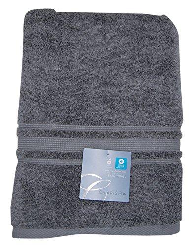 Charisma Bath Towel - 100 Percent Hygro Cotton, 30 x 58 Inch