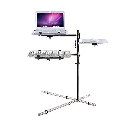 Zhuozi FUFU Mesas de Centro Soporte Ajustable para proyector portátil - Podio portátil, Mezclador Stand