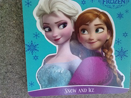 Disney Frozen Foam Covered Board Book ~ Snow & Ice