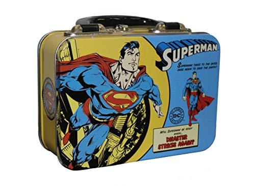 (Superman Vintage Comic Small Tin Tote)