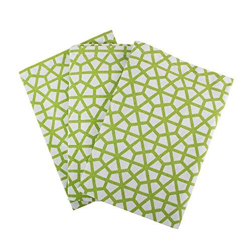 Apple Kitchen Tea Towel - Set of 3 Kitchen Towels, 100% Cotton of size 18