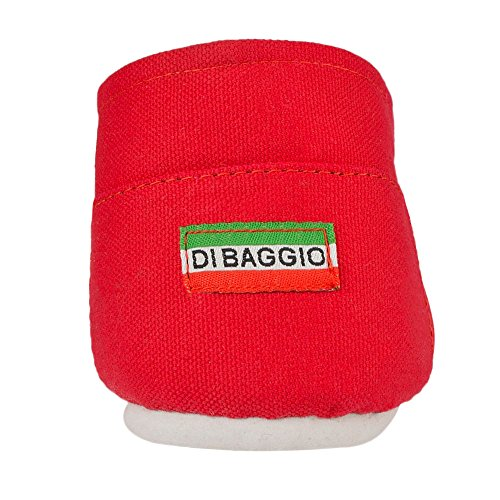 Di Baggio Men's Slip On Canvas Pumps Espadrille Beach Shoes Plain Red QnSOn