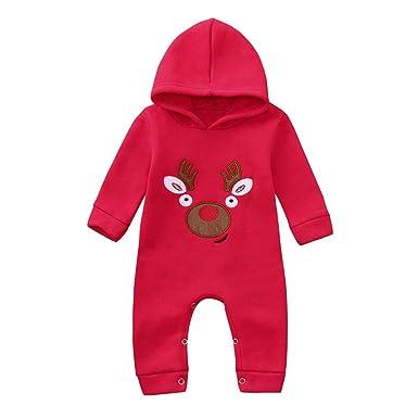 da804280a POLP Niño Conjunto Bebe niña Invierno Ropa Bebe niña Invierno Pijama Bebe  Navidad Regalo Unisex Bebé