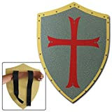Medieval Knight Crusader Foam Shield