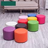 WZ Ottomans PU Upholstered Footstool Small