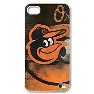 Iphone 4 4s Case Cover MLB Baltimore Orioles Retro Vintage Style Apple Iphone 4 4s