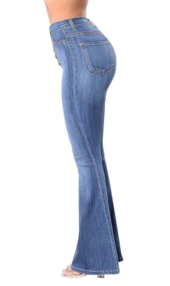 Amazon.com: Chimikeey - Pantalones vaqueros ajustables para ...