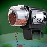 OFKP® Automatic Pet Fish Feeder Dispenser with LCD Display Timer And Anti-Clogging