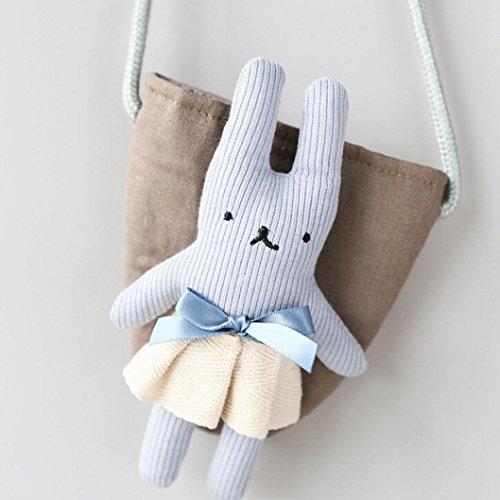 Bleu Rabbit Feitong® D'épaule A De Sacs Unique Mignonne Bébé Rangement À Main Dos Sac qwE7YB