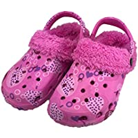 Homemate Kid's Unisex Classic Fur Lined Clog