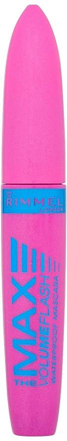 8d2fdd55000 Rimmel Volume Flash The Max Waterproof Mascara, Black: Amazon.co.uk ...