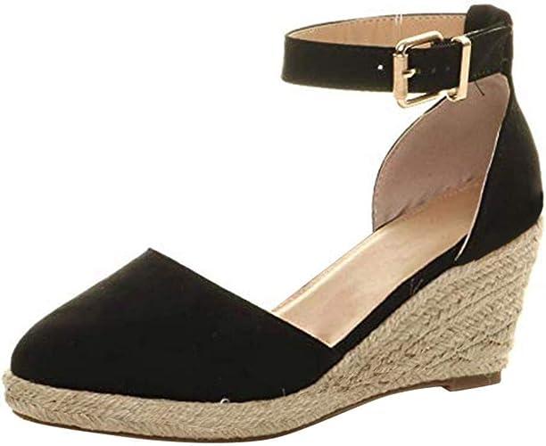 Sonnena Damen Mode Sommer Flache Schuhe Bequem Casual