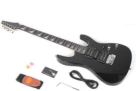 Bnineteenteam Kit de Guitarra eléctrica de Tilo Negro, Guitarra ...