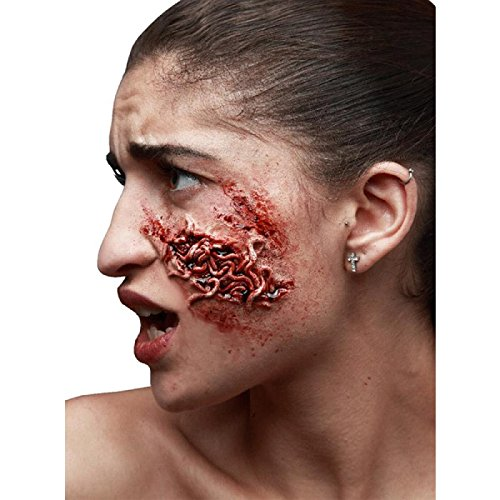 Ghoulish Productions Bloody Worms Latex Appliance Halloween Maggots Infected (Bloody Worms)