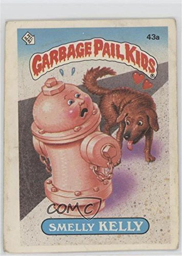 Smelly Kelly (Jolted Joel Puzzle Back) (Trading Card) 1985 Topps Garbage Pail Kids Series 2 - [Base] #43a.1 ()