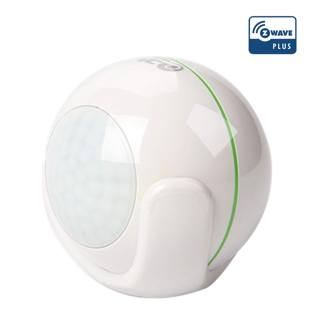 NEO Z-Wave Plus Motion Sensor Motion Detector Home Automation, Works with SmartThings, Vera, Fibaro, Zipato and more, Summer Green