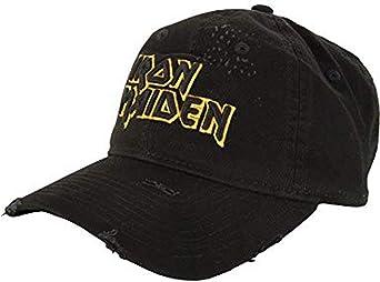 FEA Iron Maiden Gorra de béisbol con logo ajustable y aspecto ...