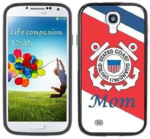 Coast Guard Mom Handmade Samsung Galaxy S4 Black Bumper Hard Plastic Case