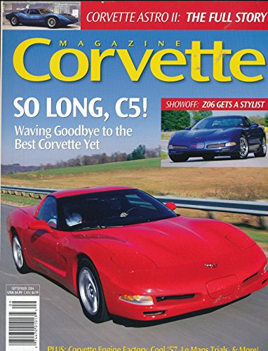 Corvette Magazine : Frank Winchell and the mid-engine concept corvettes; Replacing a C3 windshield ()