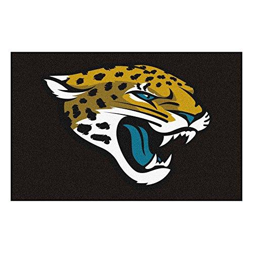 FANMATS NFL Jacksonville Jaguars Nylon Face Starter Rug