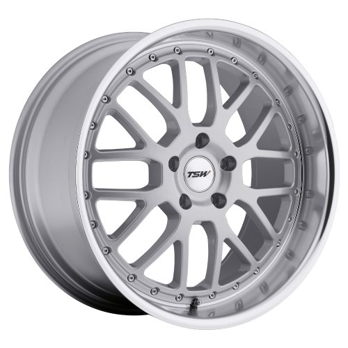 TSW VALENCIA Silver Wheel with Painted Finish (18 x for sale  Delivered anywhere in USA