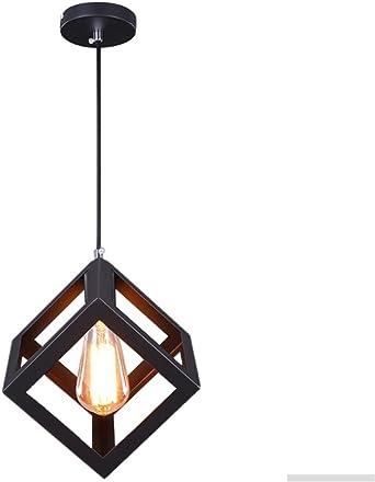 Luces colgantes,E27 Lámpara de Techo Moderna Lámpara de Techo de ...