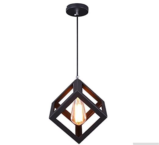 Luces colgantes,E27 Lámpara de Techo Moderna Lámpara de Techo de metal Iluminación Colgante Estilo simple Lámpara colgantes