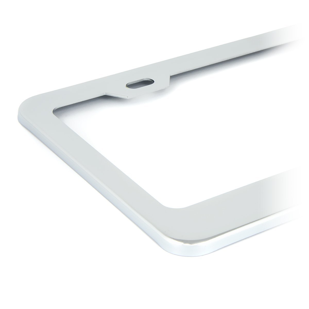 Grand General 60442 Chrome License Plate Frame with 2 Holes