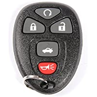 ACDelco 20935331 GM Original Equipment 5 Button Keyless Entry Remote Key Fob
