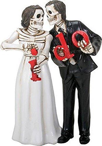 YTC Summit International Love Never Dies Skeleton Wedding Couple Bride and Groom I Do Figurine New from YTC Summit International