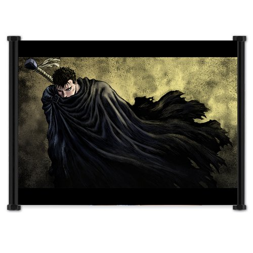 Berserk Anime Fabric Wall Scroll Poster  Inches