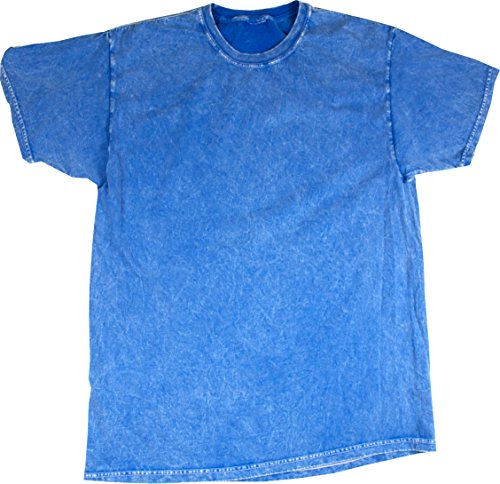 - Colortone Mineral Wash T-Shirt XL Royal