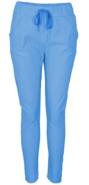 21975a6ffd919d Emma & Giovanni - Jogging/Pantaloni Slim Fit - Donna: Amazon.it ...
