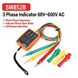 SM852B 3 Phase Rotation Sequence Indicator Meter