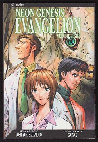 Neon Genesis Evangelion #8 manga comic book 1st printing 2004 from The Jumping Frog