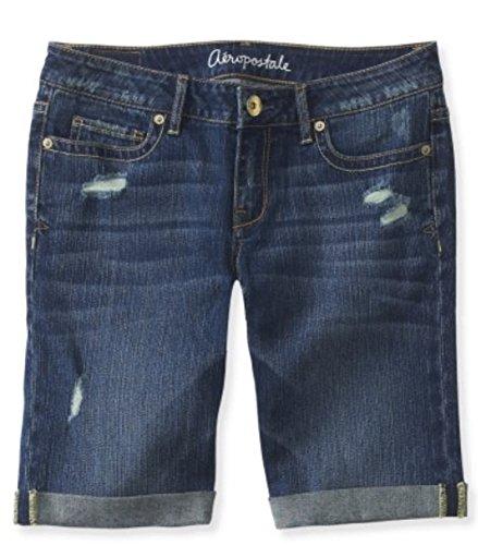 Aeropostale Womens Bermuda Jean Shorts