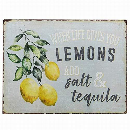 Ufcell Funny Lemons Fruits Retro Vintage Country Decor Wall Decor