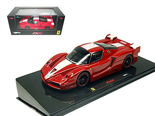 Ferrari Enzo Fxx - Maisto Hot wheels Ferrari Enzo FXX Red Elite Limited Edition 1/43 Model Car by Hotwheels