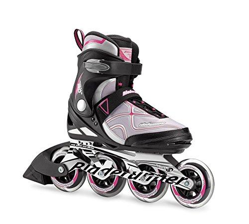 Bladerunner by Rollerblade Formula 90 Women's Adult Fitness Inline Skate, Black and Purple, Inline -