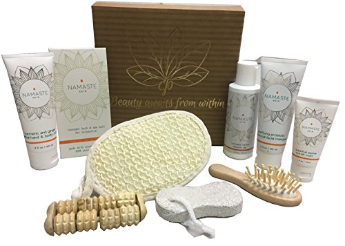 Luxury Vegan Home Spa Skin Care Collection