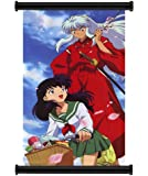Inuyasha Anime Fabric Wall Scroll Poster (32x58) Inches. [WP]-Inuyasha-15(L)
