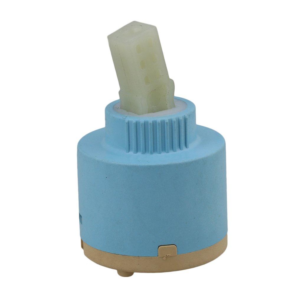BQLZR 40mm Disque en céramique Plastique de bain douche Lavabo à levier robinet mitigeur Inner Cartridge N13270