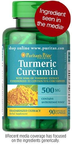 3 Pack: Turmeric Curcumin 90 capsules(270 total), 500 MG Rapid Release Capsules