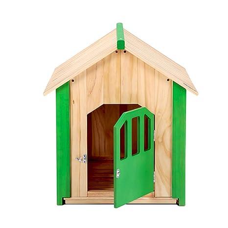 Amazon.com: GWM Kennels - Casa para perro o gato, con jardín ...