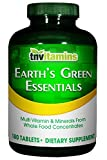 TNVitamins Earth's Green Essentials 180 Tablets Whole Foods Multivitamin Review