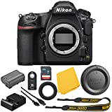 Nikon D850 FX-Format Digital SLR: Nikon D850 45.7 MP Digital SLR Camera (Body Only) Bundle + Sandisk Ultra 64GB High Speed Memory Card - International Version: 1 Year Dealer Warranty